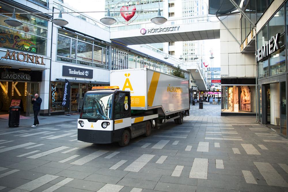 El-trailer och samverkan för en bättre atmosfär