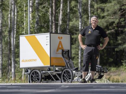 Älskade stad tog cykeln till Almedalen