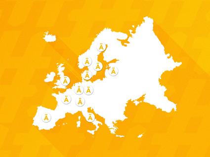 Europeiska städer nyfikna på Älskade stad